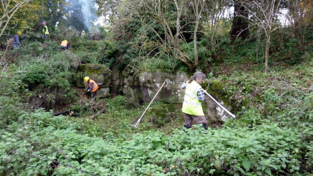 22nd October 2015 Excavating the Dell